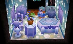 and a frosty bedroom!